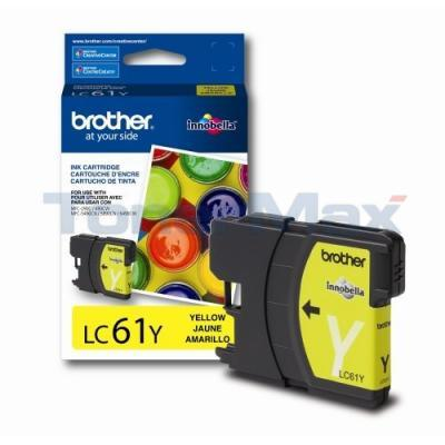 BROTHER DCP165C INK CARTRIDGE YELLOW